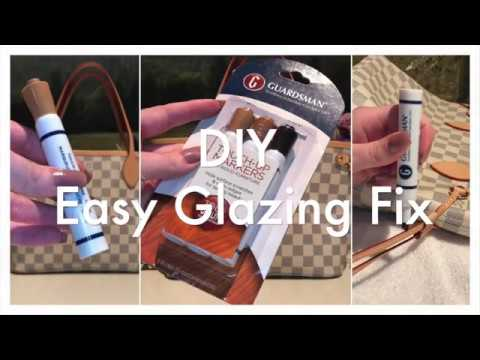 DIY Easy Glazing Fix ~ Guardsman Touch-Up Markers