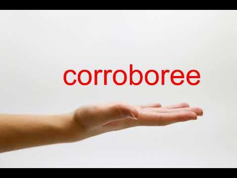 How to Pronounce corroboree - American English