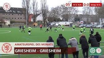 Amateurspiel des Monats | Dezember 2019 | SV Griesheim Tarik vs. SpVgg 02 Griesheim
