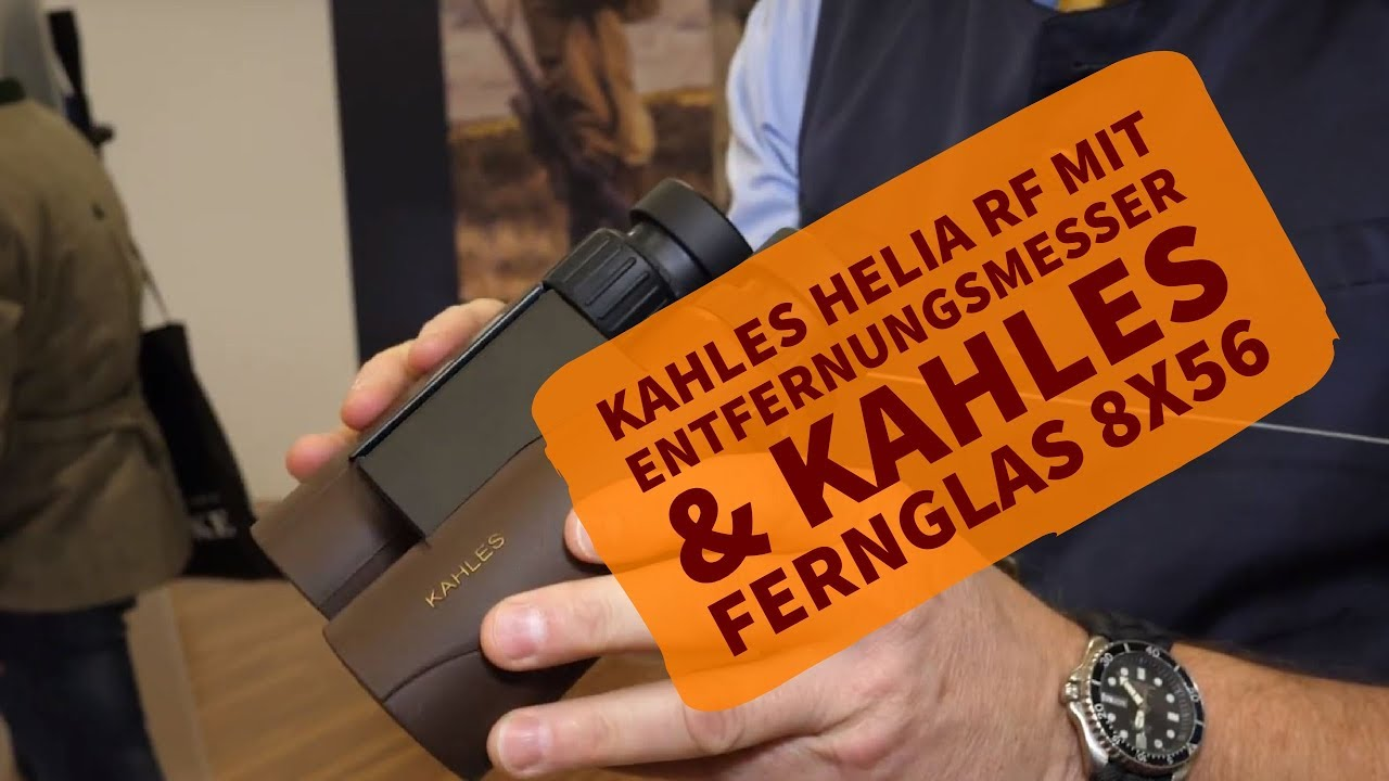 Kahles helia rf mit entfernungsmesser & kahles fernglas 8x56