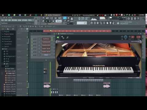 Sonatina violin VST demo - YouTube