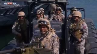 تأهب لحماية الحدود البرية والبحرية السعودية