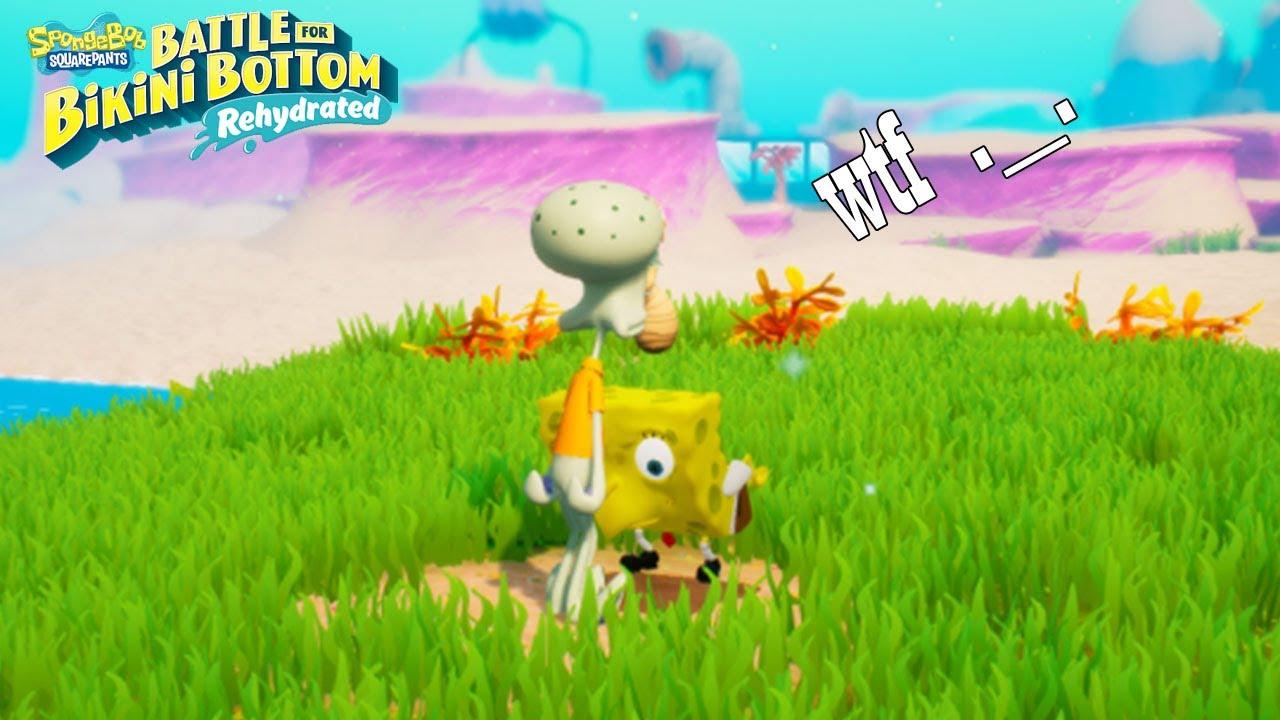 El nuevo juego de Bob esponja es algo raro -- JULINWORLD 15