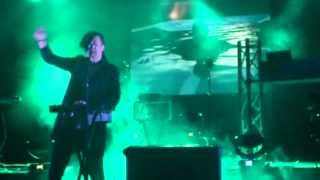 Janosch Moldau (Solar Fake support) -- Lovestar (live) -- Dresden, Bunker Straße E, 15.03.2014
