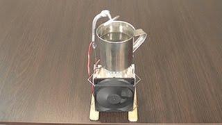 Система охлаждения воды в кружке