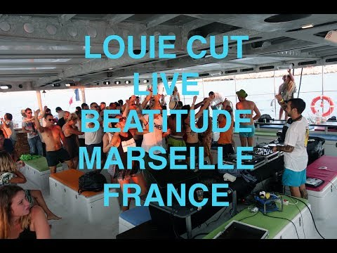 Louie Cut Live -  Boat Party - Marseille