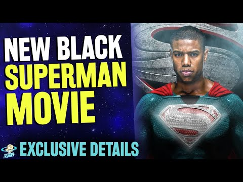 New Black Superman Movie Is Official - Exclusive Details