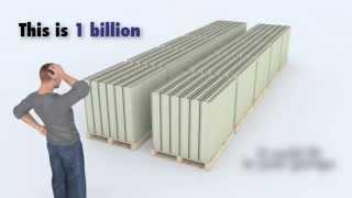 Baixar 3D Animation, What 1 Trillion Dollars Looks Like