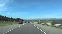 Video #1 Calgary to Banff (Trans-Canada Highway)
