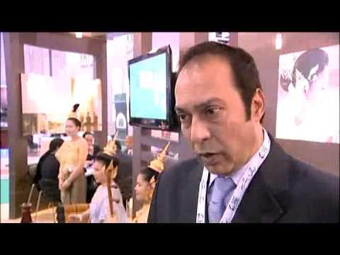 Wolfi Malik, General Manager, Dusit Princess Hotel, Dubai @ ATM 2010