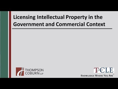 The Protection of IP When Working in the Federal Government & Commercial Markets