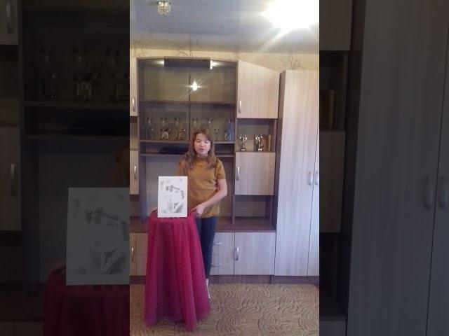 Изображение предпросмотра прочтения – ДаринаРахманкулова читает произведение «Красною кистью рябина зажглась» М.И.Цветаевой