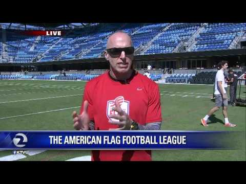 Jeffery Garcia and the American Flag Football League
