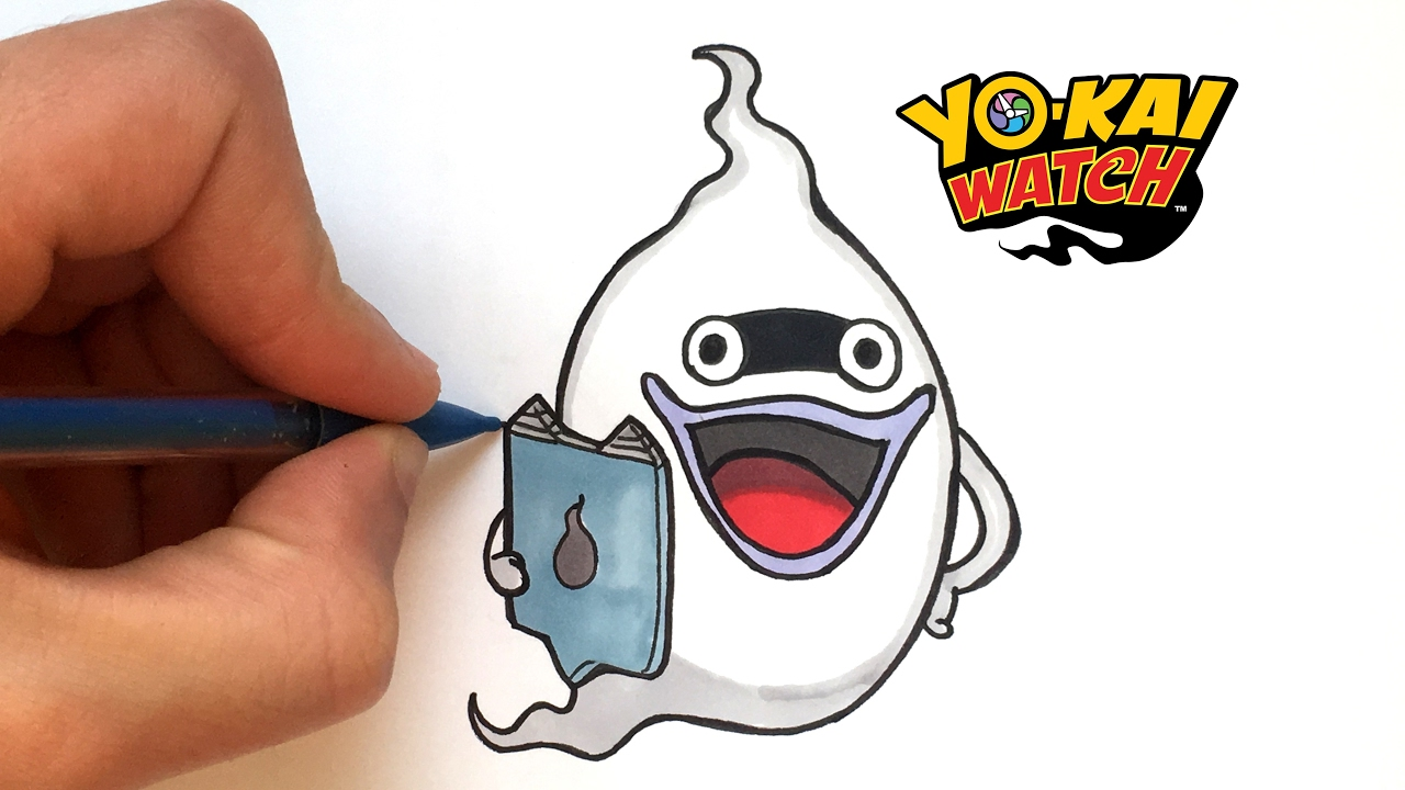 Draw Whisper From Yo Kai Watch