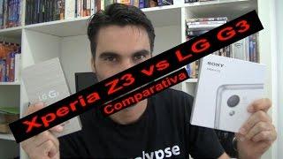 Sony Xperia® Z3 vs LG® G3, comparativa (en español)
