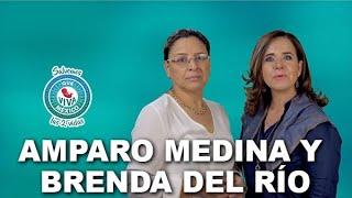 Brenda Del Río y Amparo Medina por Que Viva México