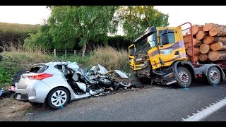 Worst Car Accidents and Texting While Driving Videos
