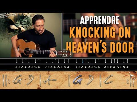 HGuitare.com : Apprendre Knockin' on Heaven's Door (Bob Dylan) à la guitare - Cours débutant