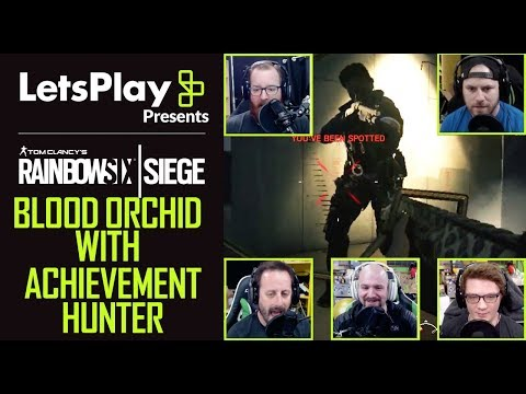 Rainbow Six Siege: New Operators In Blood Orchid - Achievement Hunter | Let's Play Presents |Ubisoft