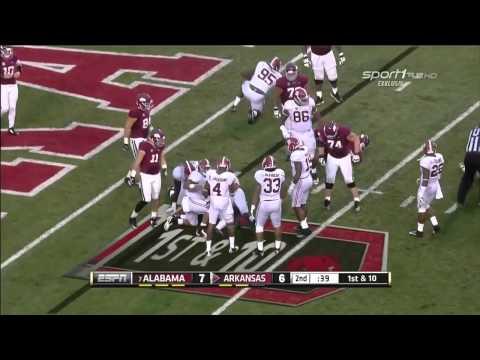 Reggie Ragland vs Arkansas (2014)