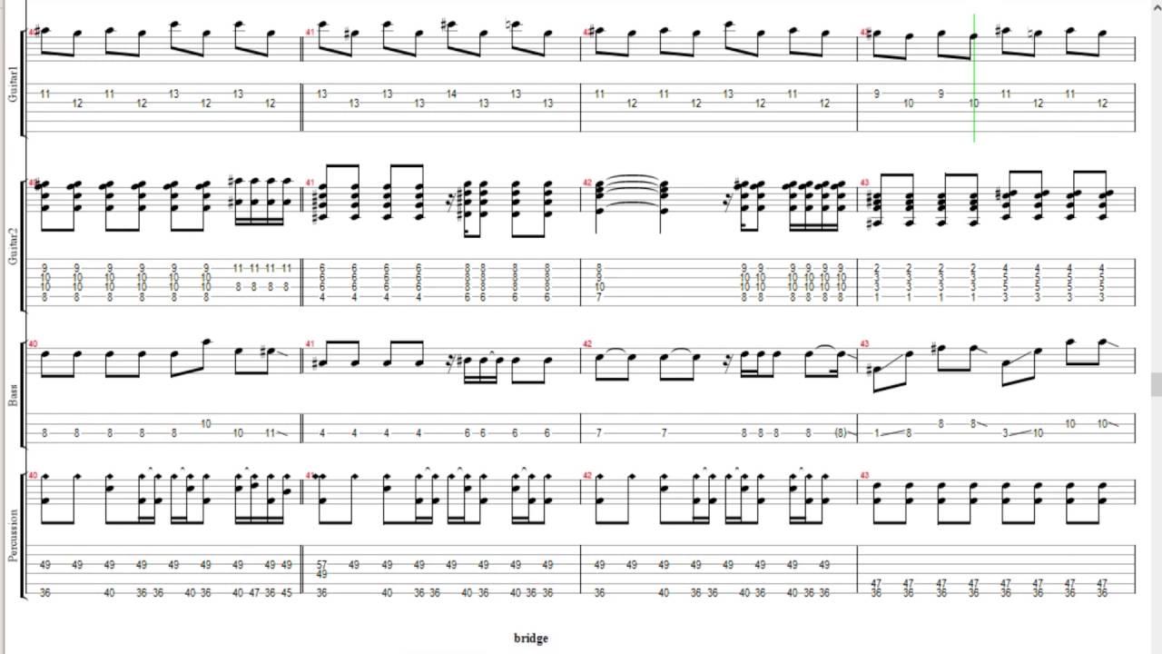 [Guitar/Bass TAB] Rie Takahashi - Stay Alive (Reuff1aZero Ending 2) - YouTube