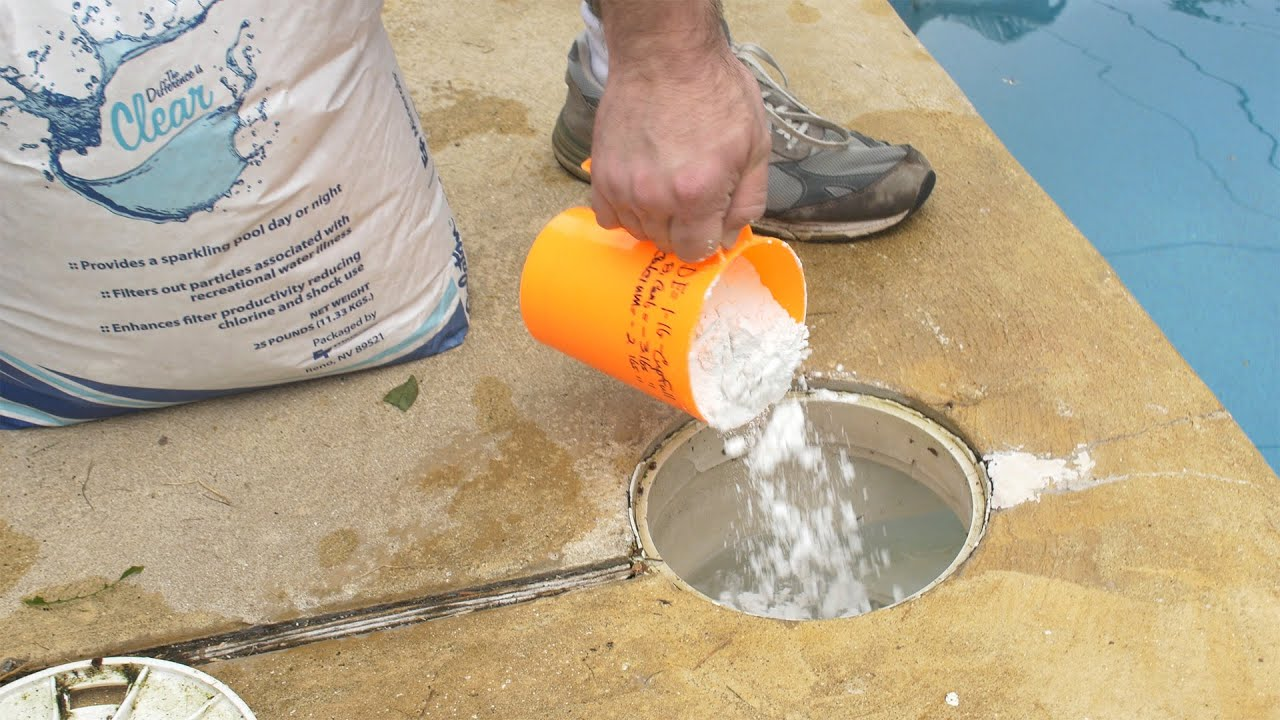 Jacuzzi Pool De How To Prevent De Powder Returning To Pool