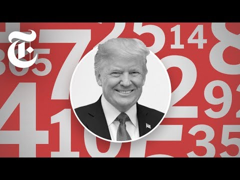 Trump's State of the Union, by the Numbers   NYT News