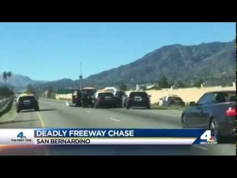 Police Chase Shooting San Bernardino California 2 13 2015 Youtube