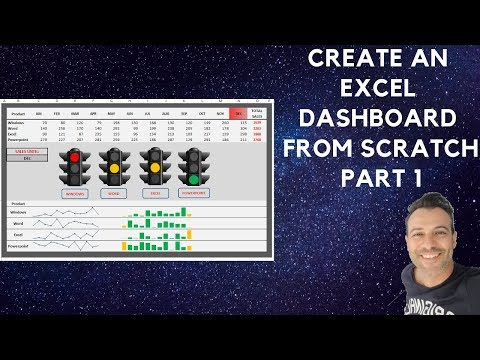 Create an Interactive Excel Dashboard from Scratch - Part 1