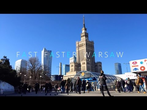 Fast Faster Warsaw - Warszawa in a fast mode (iMovie-Version 2015)