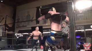 Levy Crusie vs. Angel Dorado. Breakout Championship. Pro Wrestling Battleground.