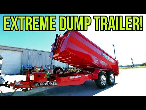 Finally An OVERBUILT TRAILER!  Check This Beast Out! Texas Pride!