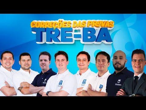 TRE-BA - Correções das Provas (TJAA, AJAJ e AJAA) | Ao Vivo