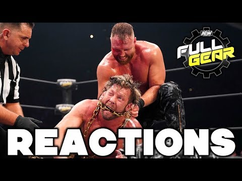 AEW Full Gear Reactions