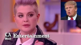 If you 'kick Latinos' who will 'clean toilets'? Kelly Osbourne asks Donald Trump