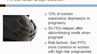 Postpartum Depression and Anxiety: More than the Blues