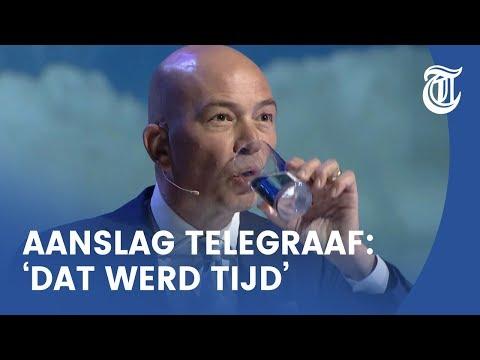 Burgemeesters klappen na grap over aanslag op Telegraaf