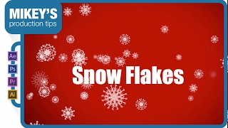 Making snowflakes in After Effects tutorial