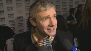 The Hobbit: Martin Freeman on the hardest thing about playing Bilbo Baggins