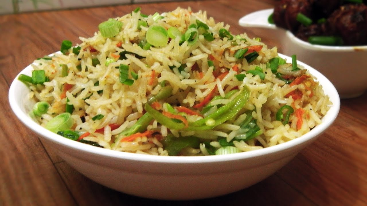 Quick Fried Rice - Indo Chinese Cuisine - Gets ready in 2 mins ...