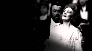 Dame Joan Sutherland & Luciano Pavarott. L