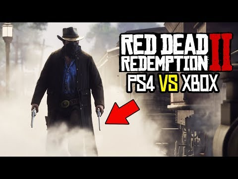 *NEW* Red Dead Redemption 2 PS4 IS BETTER THAN XBOX ONE RDR2!?