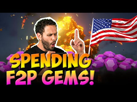 Happy 4th INSANE Call Outs Spending F2P Gems Castle Clash