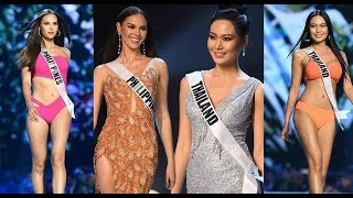 THAILAND VS PHILIPPINES - Miss Universe 2018 - Preliminary Competition