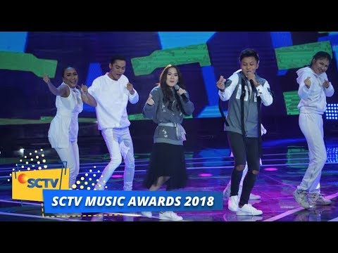 Sheryl Sheinafia feat Rizky Febian - Sweet Talk | SCTV Music Awards 2018