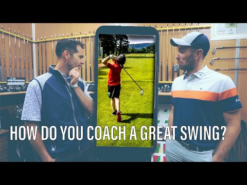 HOW CAN YOU COACH SOMEONE WITH A GOOD GOLF SWING