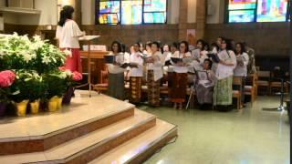 MISA PASKAH Keluarga Katolik Indonesia New York 2015