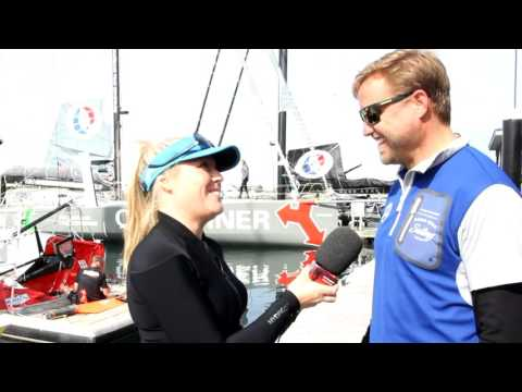 "IMOCA 60 adventures - Alex Thomson, skipper of Hugo Boss and on board with ""No Way Back"""