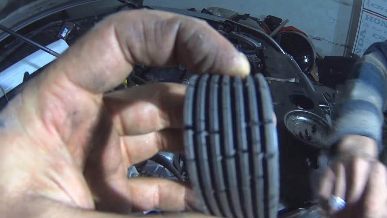 Замена ремня навесного Honda CR-V RD 7.