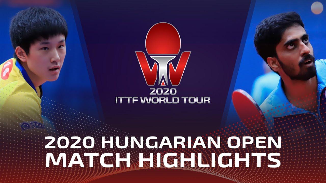 Download Tomokazu Harimoto vs Gnanasekaran Sathiyan | 2020 ITTF Hungarian Open Highlights (R16)
